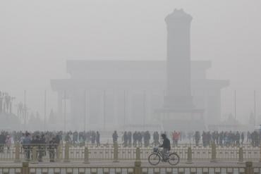 poluarea aerului